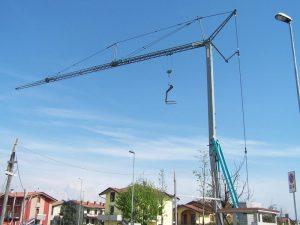 Malý stavebný žeriav Cattaneo CM60B   TOP CRANES